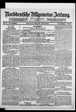 Norddeutsche allgemeine Zeitung on Mar 11, 1915