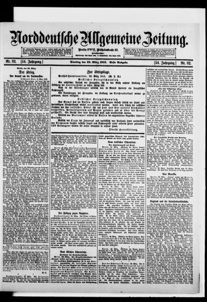 Norddeutsche allgemeine Zeitung vom 23.03.1915