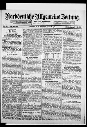 Norddeutsche allgemeine Zeitung vom 25.03.1915