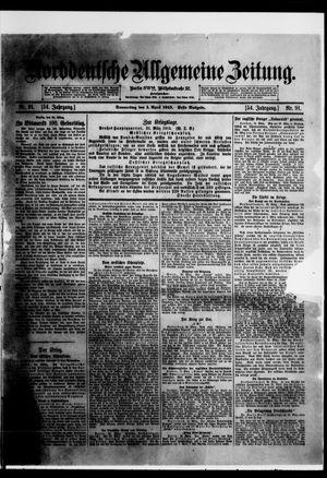 Norddeutsche allgemeine Zeitung vom 01.04.1915