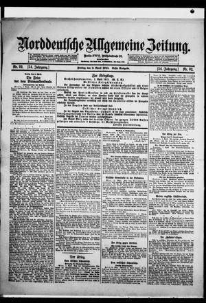Norddeutsche allgemeine Zeitung vom 02.04.1915