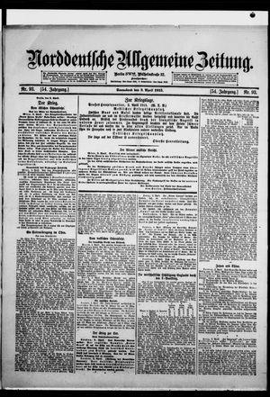 Norddeutsche allgemeine Zeitung vom 03.04.1915
