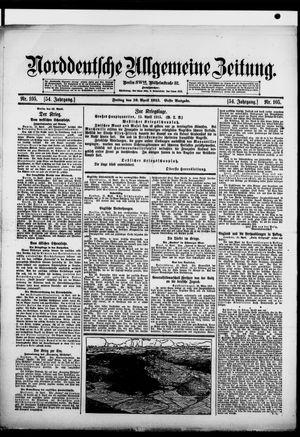 Norddeutsche allgemeine Zeitung vom 16.04.1915
