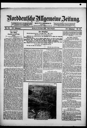 Norddeutsche allgemeine Zeitung vom 23.04.1915