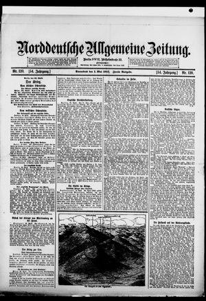 Norddeutsche allgemeine Zeitung vom 01.05.1915