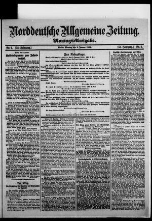 Norddeutsche allgemeine Zeitung vom 03.01.1916