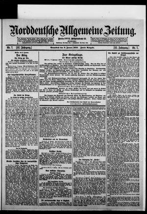 Norddeutsche allgemeine Zeitung vom 08.01.1916