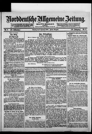 Norddeutsche allgemeine Zeitung on Jan 9, 1916