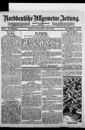 Norddeutsche allgemeine Zeitung on Jan 16, 1916