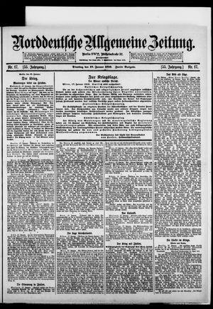 Norddeutsche allgemeine Zeitung vom 18.01.1916
