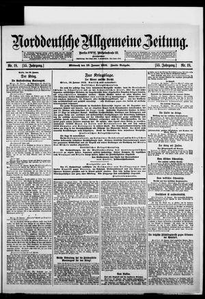 Norddeutsche allgemeine Zeitung vom 19.01.1916