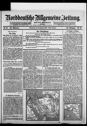 Norddeutsche allgemeine Zeitung vom 20.01.1916