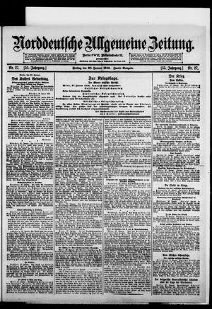 Norddeutsche allgemeine Zeitung vom 28.01.1916