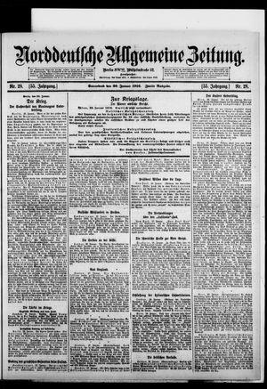 Norddeutsche allgemeine Zeitung on Jan 29, 1916
