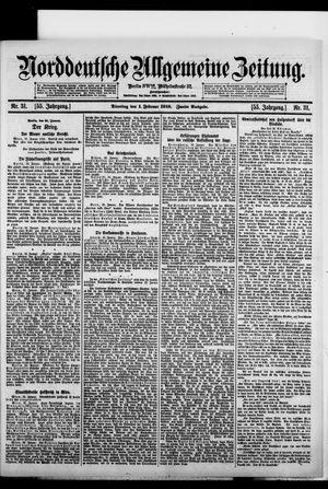 Norddeutsche allgemeine Zeitung vom 01.02.1916