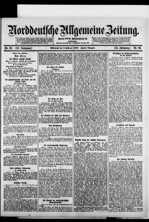 Norddeutsche allgemeine Zeitung vom 02.02.1916