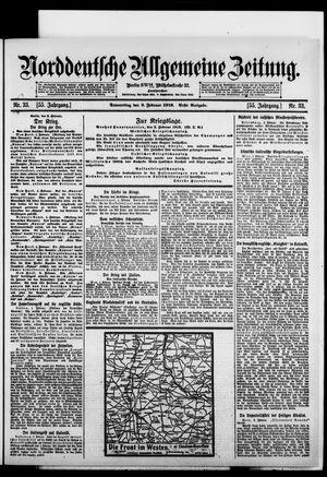 Norddeutsche allgemeine Zeitung vom 03.02.1916
