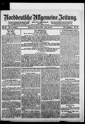 Norddeutsche allgemeine Zeitung vom 04.02.1916