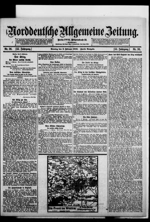 Norddeutsche allgemeine Zeitung vom 06.02.1916