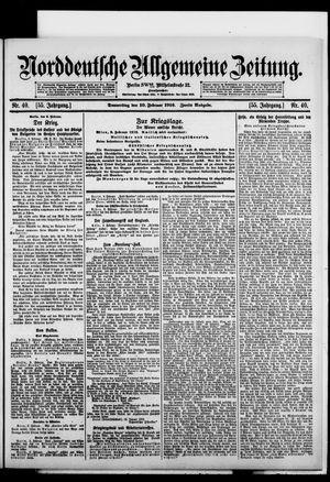 Norddeutsche allgemeine Zeitung vom 10.02.1916