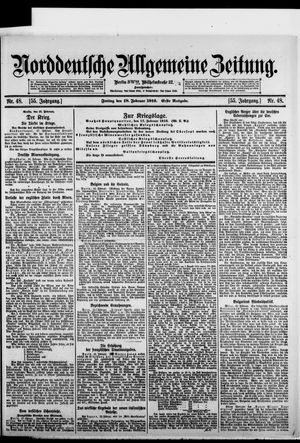 Norddeutsche allgemeine Zeitung vom 18.02.1916