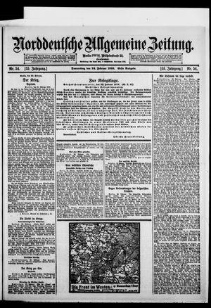 Norddeutsche allgemeine Zeitung vom 24.02.1916