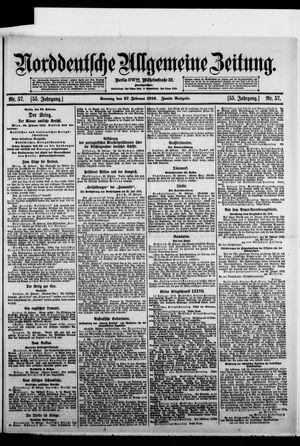 Norddeutsche allgemeine Zeitung vom 27.02.1916