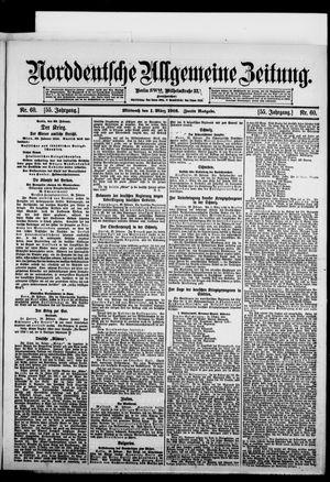Norddeutsche allgemeine Zeitung vom 01.03.1916