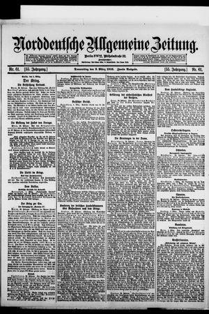 Norddeutsche allgemeine Zeitung vom 02.03.1916