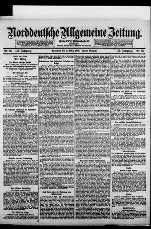 Norddeutsche allgemeine Zeitung vom 04.03.1916