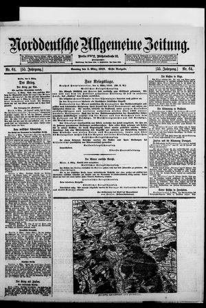 Norddeutsche allgemeine Zeitung vom 05.03.1916
