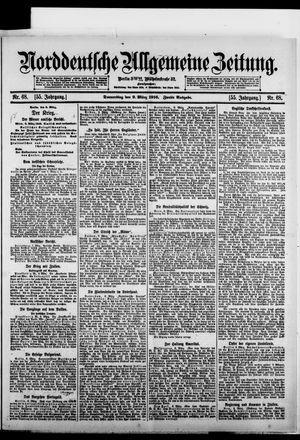 Norddeutsche allgemeine Zeitung vom 09.03.1916