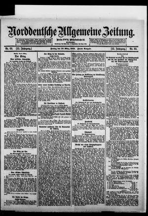 Norddeutsche allgemeine Zeitung vom 10.03.1916