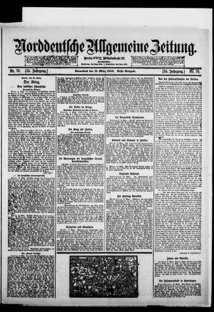 Norddeutsche allgemeine Zeitung vom 11.03.1916
