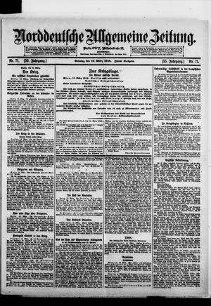 Norddeutsche allgemeine Zeitung vom 12.03.1916