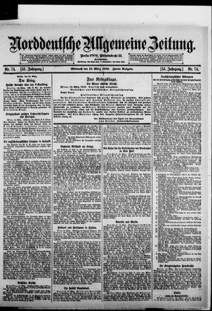 Norddeutsche allgemeine Zeitung vom 15.03.1916