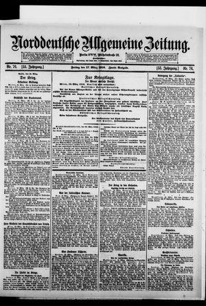 Norddeutsche allgemeine Zeitung vom 17.03.1916