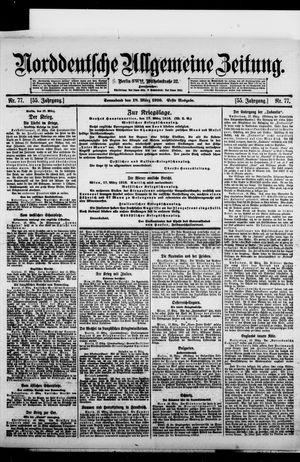 Norddeutsche allgemeine Zeitung vom 18.03.1916