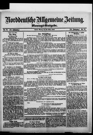 Norddeutsche allgemeine Zeitung vom 20.03.1916