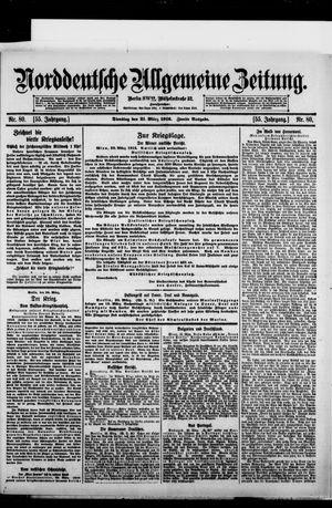 Norddeutsche allgemeine Zeitung vom 21.03.1916