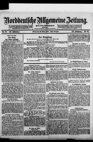 Norddeutsche allgemeine Zeitung vom 24.03.1916
