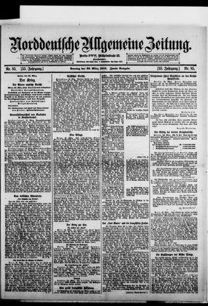 Norddeutsche allgemeine Zeitung vom 26.03.1916