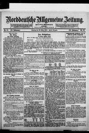 Norddeutsche allgemeine Zeitung vom 28.03.1916