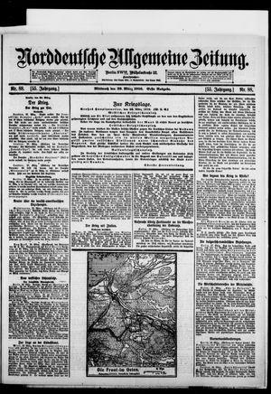 Norddeutsche allgemeine Zeitung vom 29.03.1916