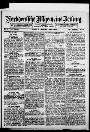 Norddeutsche allgemeine Zeitung vom 01.04.1916