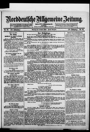 Norddeutsche allgemeine Zeitung vom 02.04.1916