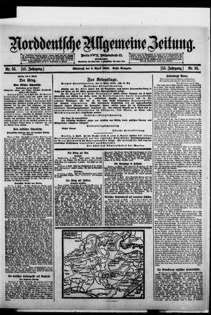 Norddeutsche allgemeine Zeitung vom 05.04.1916