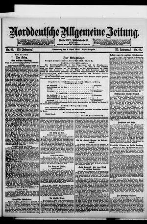 Norddeutsche allgemeine Zeitung vom 06.04.1916