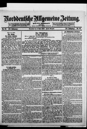 Norddeutsche allgemeine Zeitung vom 08.04.1916