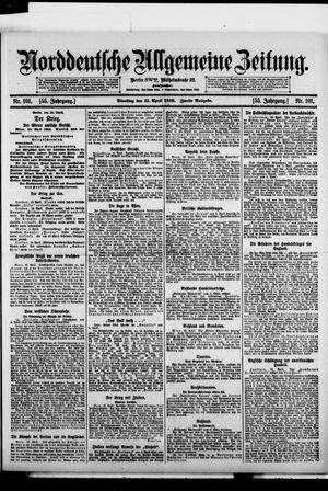 Norddeutsche allgemeine Zeitung vom 11.04.1916